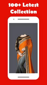 Women Saree Photo Suit screenshot 1