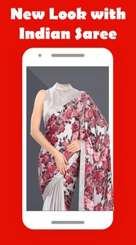 Women Saree Photo Suit screenshot 2