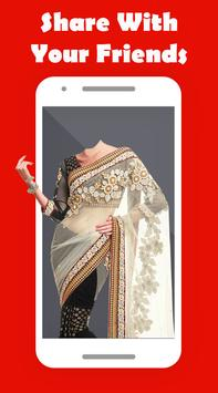 Women Saree Photo Suit screenshot 3