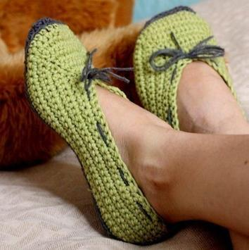women slippers crochet screenshot 2