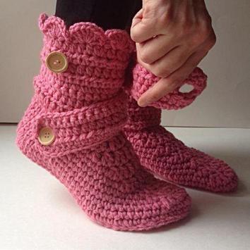 women slippers crochet screenshot 3