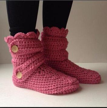 women slippers crochet apk screenshot