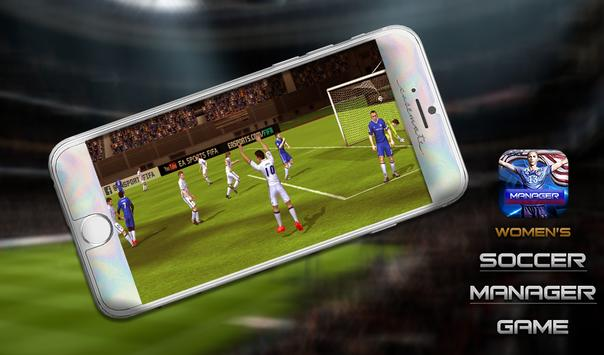 Women's Soccer Game screenshot 1