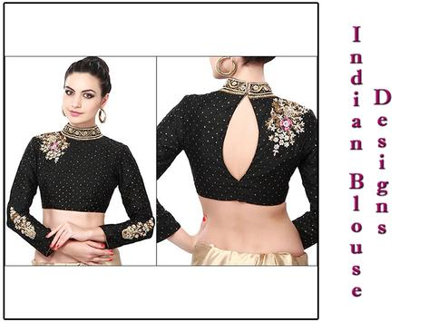 Indian Blouse Designs Latest Fashion poster