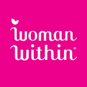 Woman within icon
