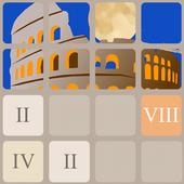 Roman Numerals 2048 icon
