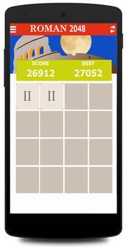 Roman Numerals 2048 poster
