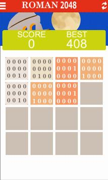 Roman Numerals 2048 screenshot 1