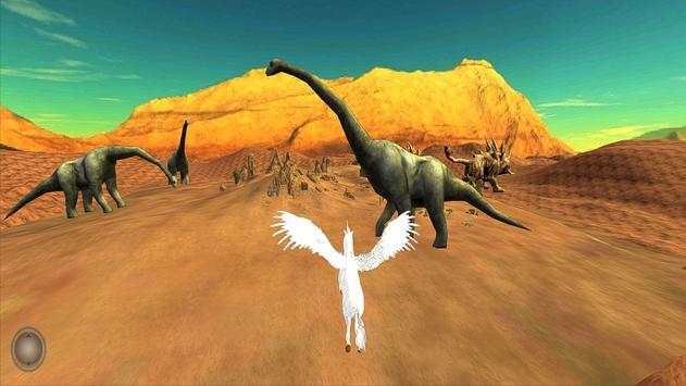 Unicorn Simulator-Flying Horse:Wonder Islands 3D poster