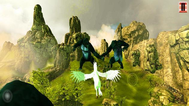 Unicorn Simulator-Flying Horse:Wonder Islands 3D screenshot 10