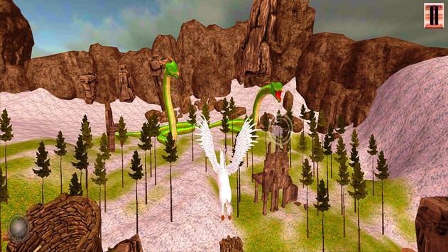 Unicorn Simulator-Flying Horse:Wonder Islands 3D screenshot 19