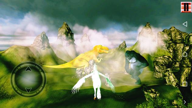 Unicorn Simulator-Flying Horse:Wonder Islands 3D screenshot 1