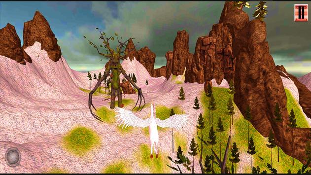 Unicorn Simulator-Flying Horse:Wonder Islands 3D screenshot 4