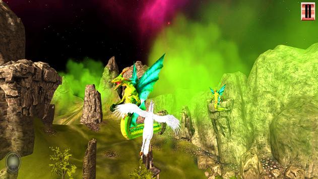 Unicorn Simulator-Flying Horse:Wonder Islands 3D screenshot 5