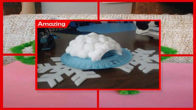 Amazing Cotton Ball Snowman Craft screenshot 4