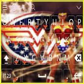 Wonder Woman keyboarde Theme icon