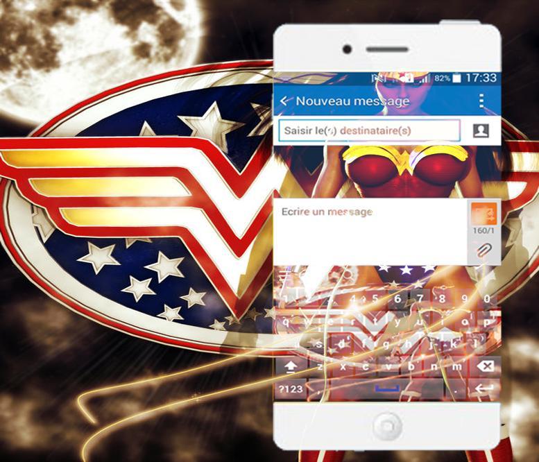 Wonder Woman keyboarde Theme poster