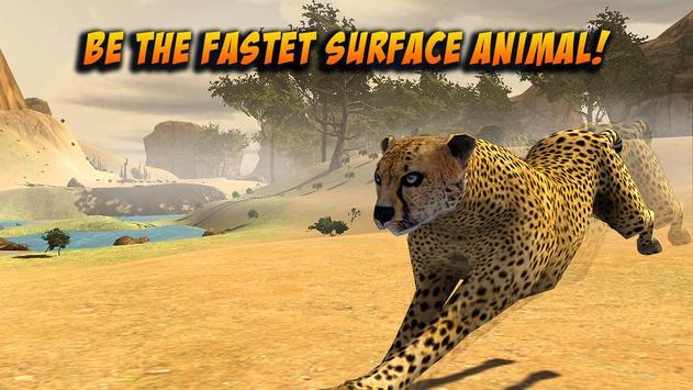 Wild Attack Cheetah Simulator poster
