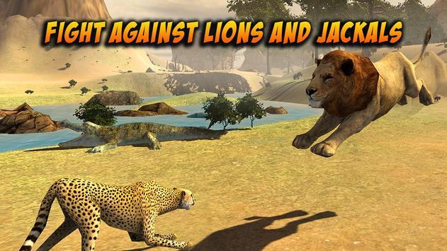 Wild Attack Cheetah Simulator apk screenshot