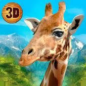 Wild Giraffe Simulator 3D icon