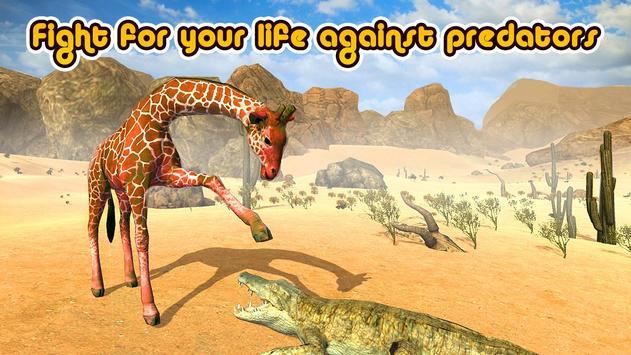 Wild Giraffe Simulator 3D screenshot 1