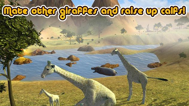 Wild Giraffe Simulator 3D screenshot 2