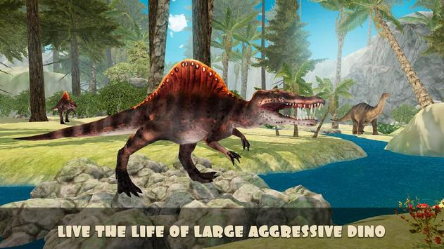 Jurassic Spinosaurus Simulator poster