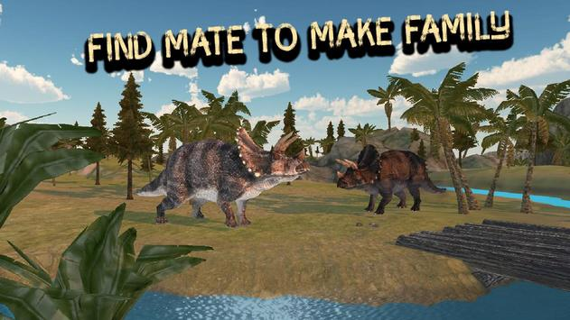 Triceratops Simulator 3D apk screenshot