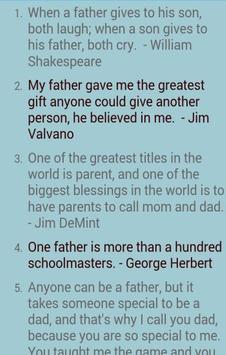 Top Father's Day eCard apk screenshot