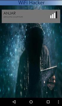 Wifi Password Hacked Prank poster