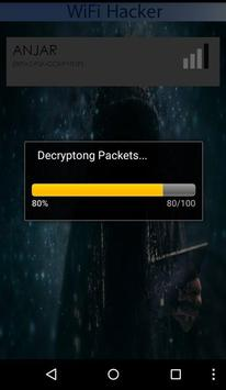 Wifi Password Hacked Prank apk screenshot