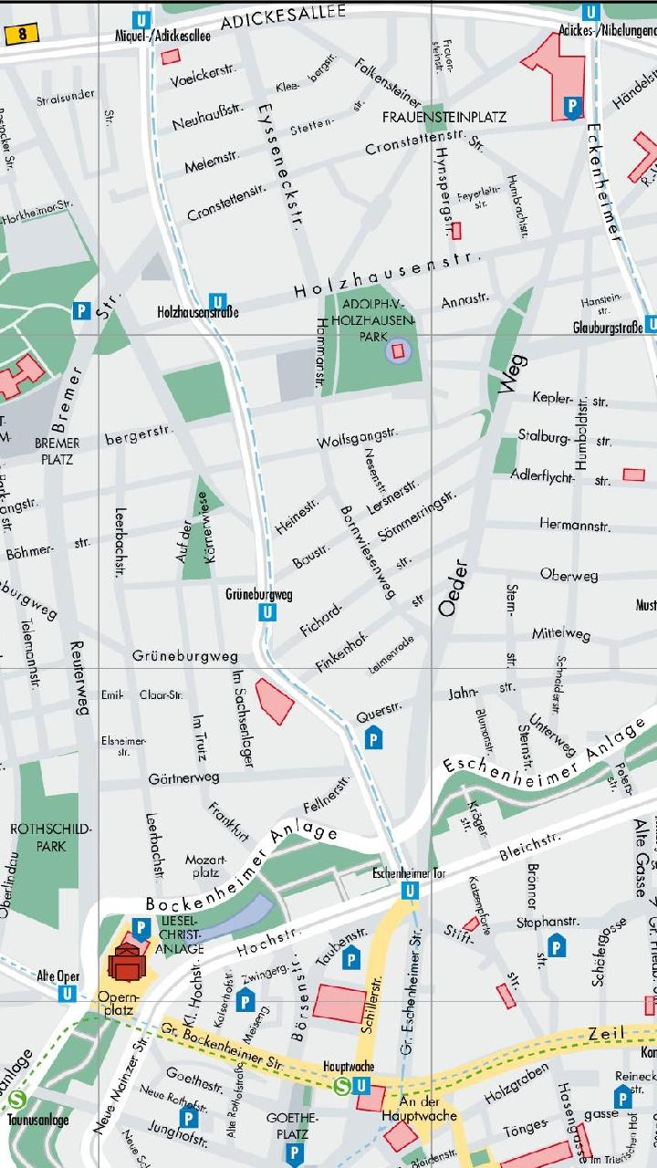 Frankfurt Tourist Map for Android - APK Download