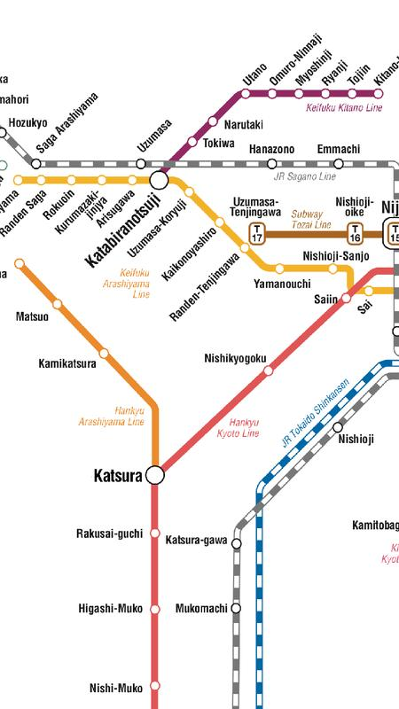 Kyoto Subway Map For Android Apk Download