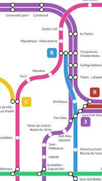 Métro de Lyon screenshot 4
