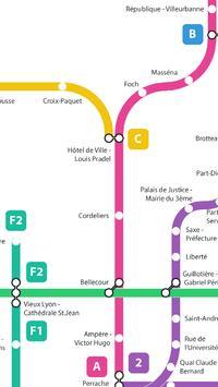 Métro de Lyon screenshot 5