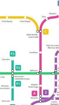 Métro de Lyon screenshot 6