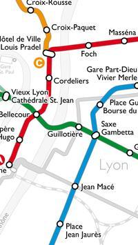 Métro de Lyon apk screenshot