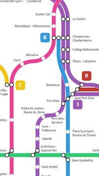 Métro de Lyon screenshot 1