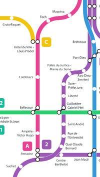 Métro de Lyon screenshot 2