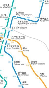 札幌市営地下鉄路線図 screenshot 2