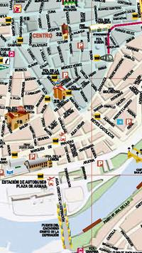 Sevilla Tourist Map apk screenshot