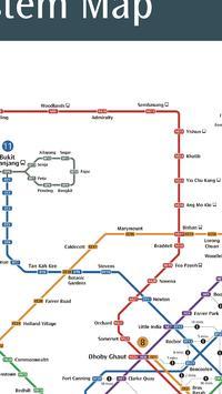 Singapore Metro Map apk screenshot