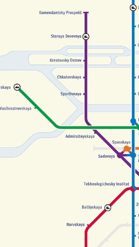 Saint Petersburg Subway Map For Android Apk Download