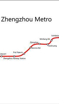 Zhengzhou Metro poster