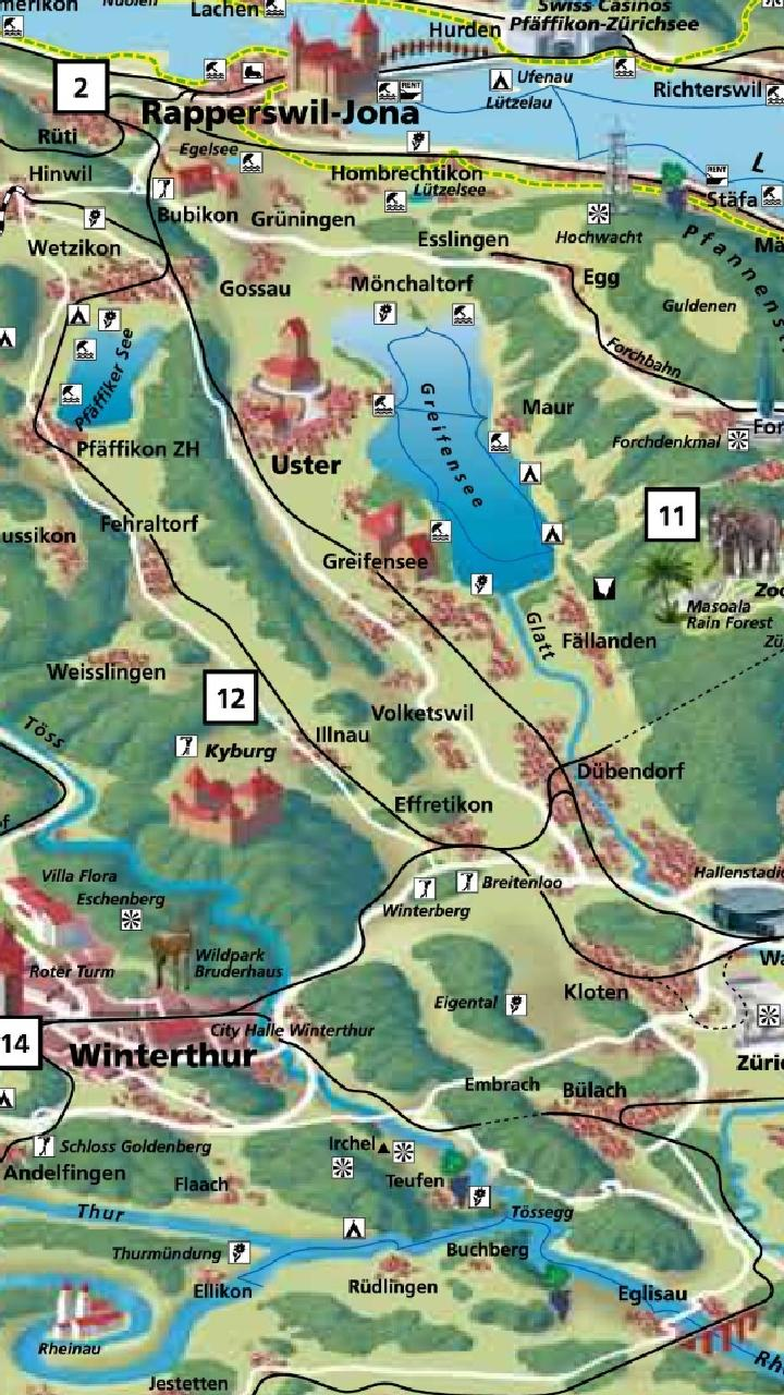 Zurich Tourist Map for Android - APK Download on