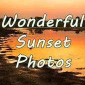 Wonderful Sunset Photos icon