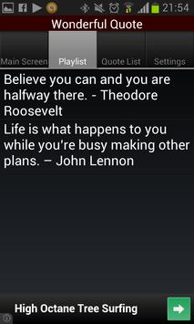 Wonderful Quote apk screenshot