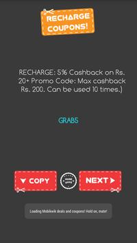 Coupons - Paytm Freecharge poster