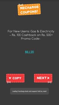 Mobile Recharge Promo Codes poster