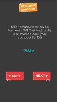 Mobile Recharge Promo Codes apk screenshot